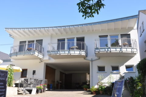 Mosel-Side-View of our new Apartments.